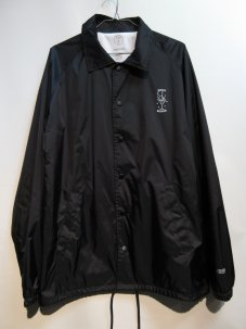GOOD WORTH Night Moves Coaches Jacket ブラック