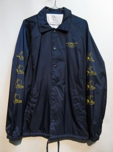 GOOD WORTH Baloon Coaches Jacket ネイビー