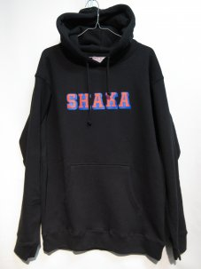 <img class='new_mark_img1' src='//img.shop-pro.jp/img/new/icons20.gif' style='border:none;display:inline;margin:0px;padding:0px;width:auto;' />SHAKASTICS CLASSIC SHAKA LOGO HOODIE Mサイズ ブラック