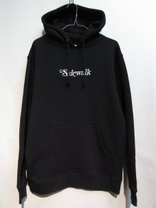 <img class='new_mark_img1' src='//img.shop-pro.jp/img/new/icons20.gif' style='border:none;display:inline;margin:0px;padding:0px;width:auto;' />SHAKASTICS EMBROIDERED SIDEWALK HOODIE ブラック