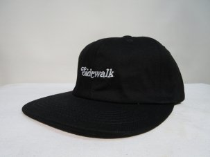 SHAKASTICS EMBROIDERED SIDEWALK HAT ブラック