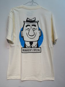 Managers Special MANAGER TEE Mサイズ クリーム