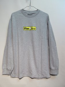 Managers Special WOOD 4 LESS L/S TEE Mサイズ グレー