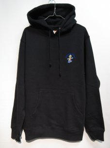 <img class='new_mark_img1' src='//img.shop-pro.jp/img/new/icons20.gif' style='border:none;display:inline;margin:0px;padding:0px;width:auto;' />Managers Special BOBBY THE BANANA EMBROIDERED HOODIE ブラック