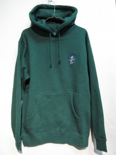 Managers Special BOBBY THE BANANA EMBROIDERED HOODIE グリーン