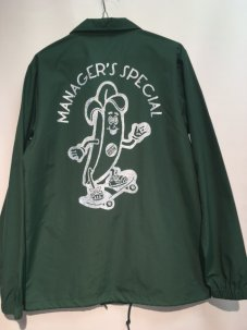 Managers Special THE BANANA COACH JACKET グリーン