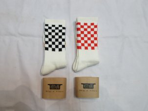 iandme ×RUTSUBO CHECKER SOCKS 靴下