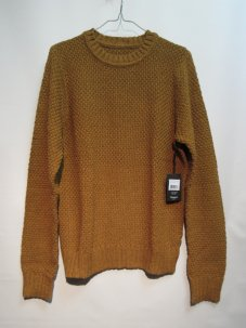 <img class='new_mark_img1' src='//img.shop-pro.jp/img/new/icons20.gif' style='border:none;display:inline;margin:0px;padding:0px;width:auto;' />BRIXTON ブリクストン NEPTUNE SWEATER Sサイズ マスタード