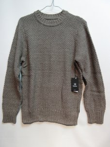 <img class='new_mark_img1' src='//img.shop-pro.jp/img/new/icons20.gif' style='border:none;display:inline;margin:0px;padding:0px;width:auto;' />BRIXTON NEPTUNE SWEATER Sサイズ BROWN