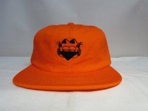 SHAKASTICS × KENKAGAMI kenkagami3 6panel Hat オレンジ