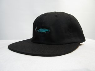GOODWORTH SMOKING FISH STRAPBACK BLACK