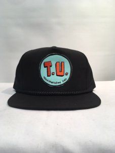 T.U.(TRANSPORTATION UNIT) T.U SNAPBACK ブラック