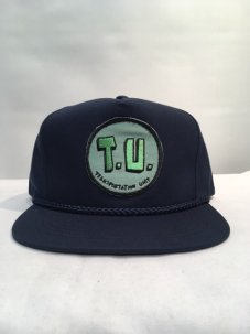 T.U.(TRANSPORTATION UNIT) T.U SNAPBACK ネイビー