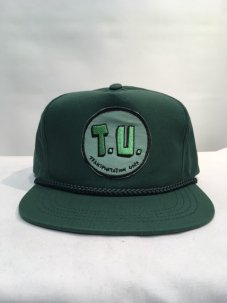 <img class='new_mark_img1' src='//img.shop-pro.jp/img/new/icons5.gif' style='border:none;display:inline;margin:0px;padding:0px;width:auto;' />T.U.(TRANSPORTATION UNIT) T.U SNAPBACK グリーン