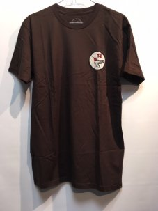 T.U.(TRANSPORTATION UNIT) T.U H-BIRD TEE Mサイズ ブラウン
