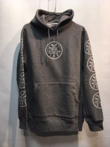 <img class='new_mark_img1' src='//img.shop-pro.jp/img/new/icons5.gif' style='border:none;display:inline;margin:0px;padding:0px;width:auto;' />HUF VOLTAGE PULLOVER HOODIE Sサイズ GREY
