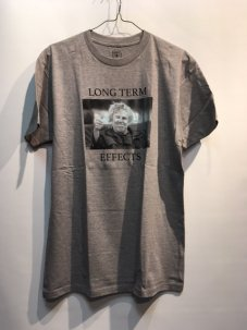 GOOD WORTH LONG TERM TWO TEE Mサイズ グレー