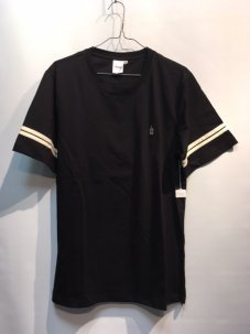 GOOD WORTH BEST WISHES JERSEY TEE Mサイズ ブラック