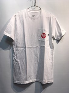 GOOD WORTH MONEY POCKET TEE Mサイズ ホワイト