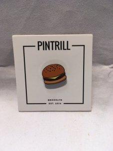 PINTRILL THE HAMBURGER PIN