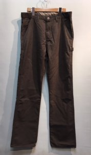 Dickies ×UO SLIM STRAIGHT HERRINGBONE PAINTER PANTS ブラウン