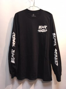 BLAST SKATES SMASHER LONG SLEEVE BLACK
