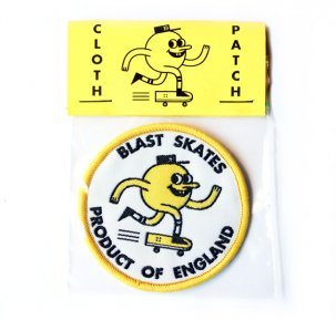BLAST SKATES Cloth Patch