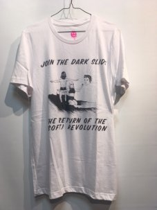 DON'T CARE Dark Slide Tee Mサイズ ホワイト