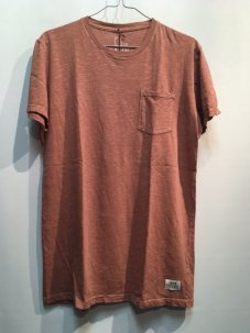 KATIN Base Slub Pocket Tee Sサイズ Burnt orange