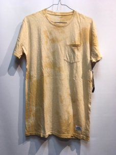 KATIN Base Slub Pocket Tee Sサイズ Yellow