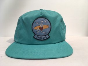 <img class='new_mark_img1' src='//img.shop-pro.jp/img/new/icons5.gif' style='border:none;display:inline;margin:0px;padding:0px;width:auto;' />KATIN Gustavo Nylon Snapback Hat TEAL