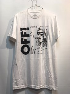 DRASTIC PLASTIC CLOTHING Off! Surfer Boyfriend Tee Mサイズ WHITE