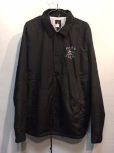 HARD LUCK OG LOGO COACH JACKET Mサイズ BLACK