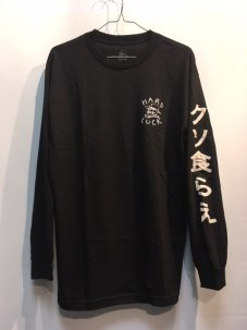 HARD LUCK OG JAPAN LONG SLEEVE Mサイズ BLACK