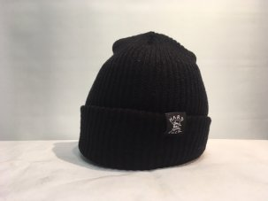 <img class='new_mark_img1' src='//img.shop-pro.jp/img/new/icons5.gif' style='border:none;display:inline;margin:0px;padding:0px;width:auto;' />HARD LUCK OG WOVEN BEANIE BLACK