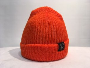 HARD LUCK OG WOVEN BEANIE ORANGE