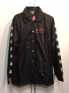 AIR WALK × STAPLE PIGEON COACH JACKET Mサイズ ブラック