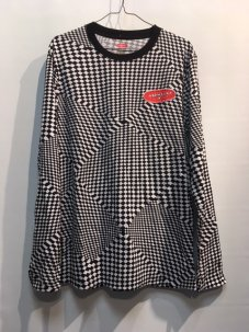 AIR WALK × STAPLE PIGEON CHECKERED L/S TEE Mサイズ