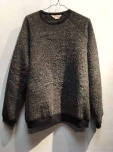 TOWN CRAFT Shaggy Raglan Crew-neck