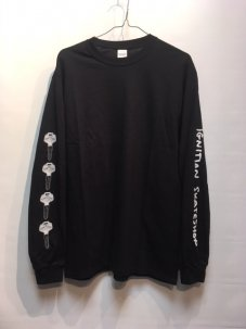 IGNITION SKATESHOP KEY L/S Tee BLACK