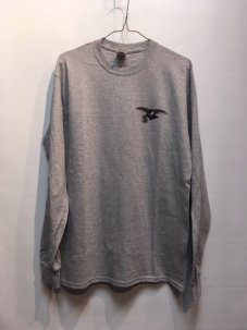 IGNITION SKATESHOP ANTIHERO SUPPORT L/S Tee GREY