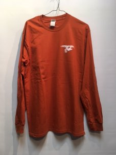 IGNITION SKATESHOP ANTIHERO SUPPORT L/S Tee ORANGE