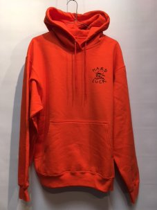 HARD LUCK OG LOGO ORANGE HOODIE