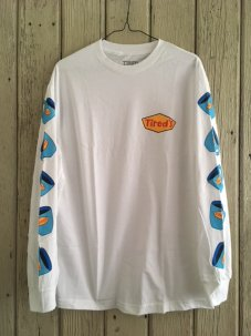 Tired Skateboards Diner Long Sleeve Tee