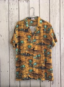 Insight Hotel California Rayon Short Sleeve Shirt