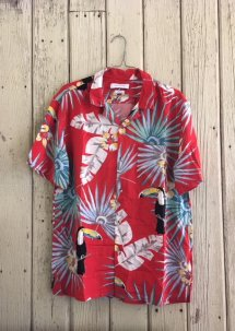 UO Electric Toucan Rayon Short Sleeve Shirt
