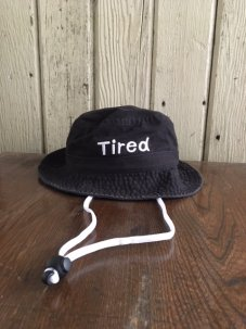 Tired Simple Bucket Hat
