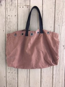 Remade Surplus Grommet Tote Bag