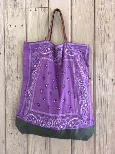 Remade Reversible Bandana Bag