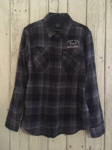 DarkSeas × Grundens Check nel shirts